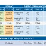 GBC_EAP_timetable