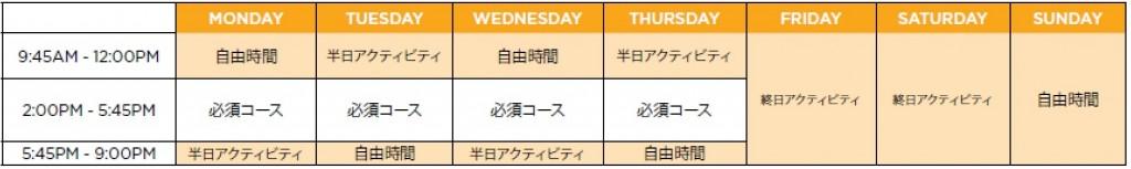 ILAC Platinum Sample Schedule